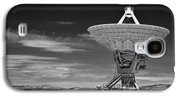 Very Large Array Radio Telescopes Galaxy S4 Case by Christine Till