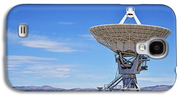 Very Large Array - Vla - Radio Telescopes Galaxy S4 Case by Christine Till