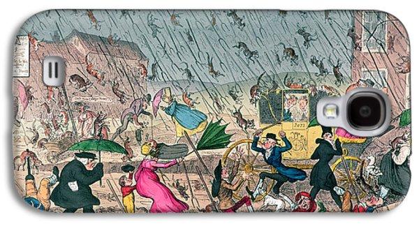 Very Unpleasant Weather Galaxy S4 Case by George Cruikshank