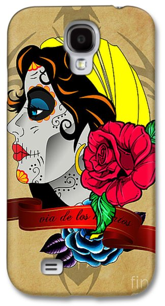 Via De Los Muertos Galaxy S4 Case