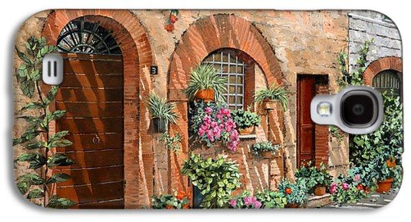 Viaggio In Toscana Galaxy S4 Case by Guido Borelli