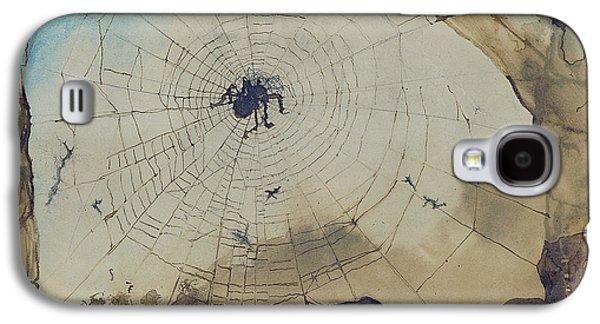 Vianden Through A Spider's Web Galaxy S4 Case by Victor Hugo