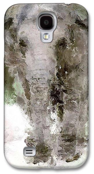 Vibrant Elephant Galaxy S4 Case by Yury Malkov