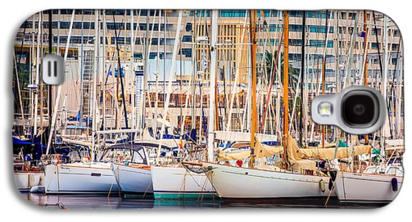 Barcelona Port Galaxy S4 Case by Pati Photography