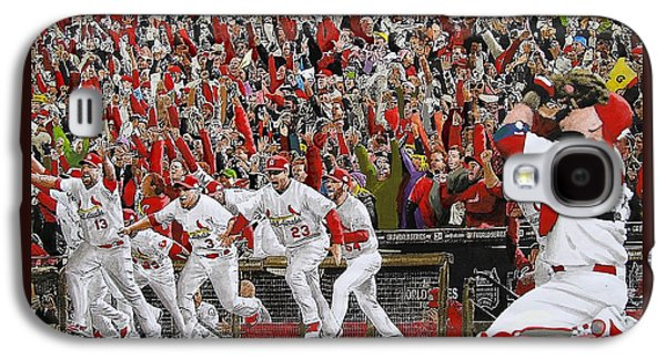 Victory - St Louis Cardinals Win The World Series Title - Friday Oct 28th 2011 Galaxy S4 Case