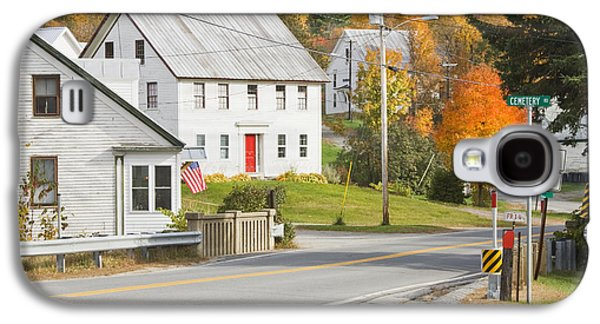 Vienna Maine In Fall Galaxy S4 Case by Keith Webber Jr