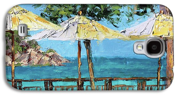 View From The Coast Galaxy S4 Case by Leslie Saeta