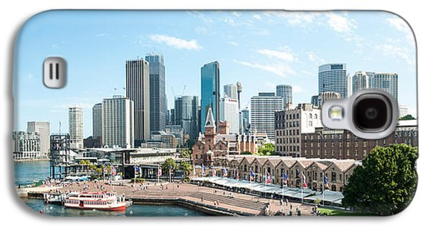 View Of Circular Quay And Downtown Galaxy S4 Case by Panoramic Images