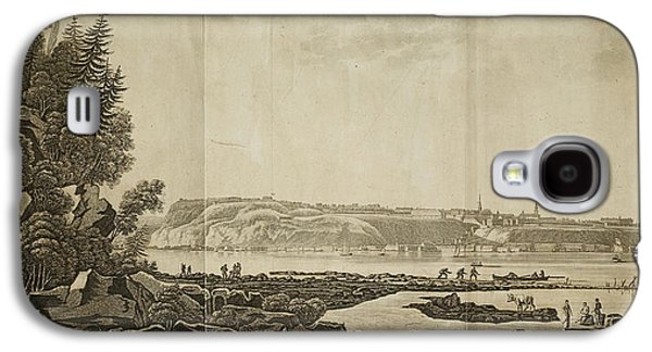View Of Quebec Galaxy S4 Case by British Library