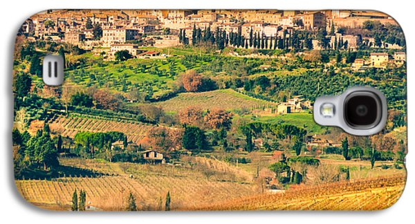 View Of San Gimignano - Tuscany Galaxy S4 Case by Luciano Mortula