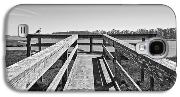 View Of The Elkhorn Slough From A Platform.  Galaxy S4 Case by Jamie Pham
