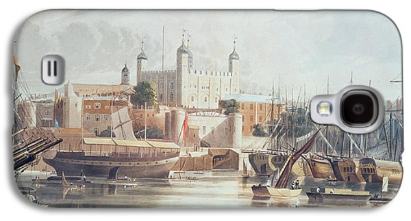 View Of The Tower Of London Galaxy S4 Case by John Gendall
