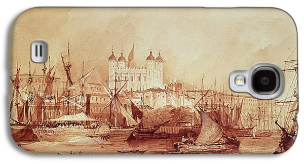 View Of The Tower Of London Galaxy S4 Case by William Parrott
