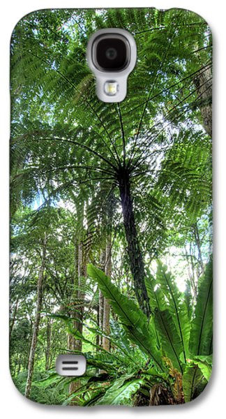 View Of Vegetation In Bali Botanical Galaxy S4 Case by Jaynes Gallery