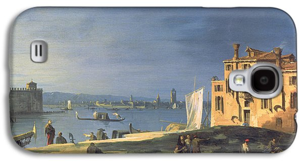 View Of Venice Galaxy S4 Case by Canaletto