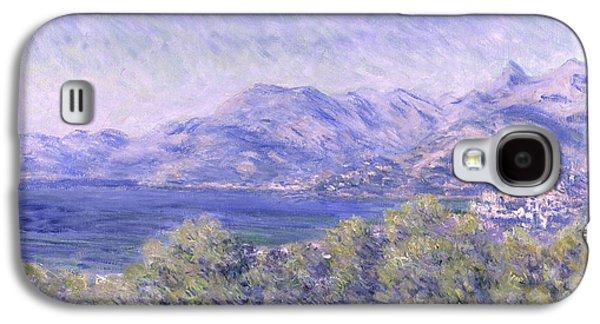 View Of Ventimiglia, 1884 Galaxy S4 Case by Claude Monet