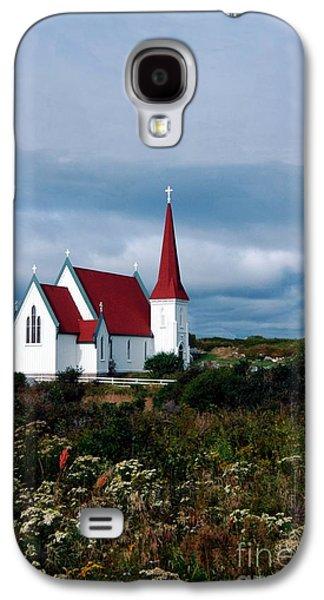 Village Church Galaxy S4 Case by Kathleen Struckle