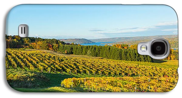 Vineyard, Keuka Lake, Finger Lakes, New Galaxy S4 Case by Panoramic Images