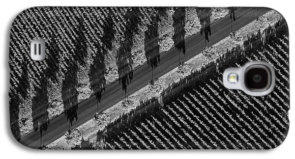 Vineyards From Hot Air Balloon 2 Galaxy S4 Case by Bob Phillips