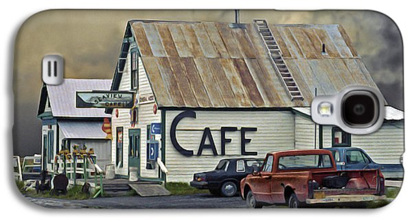 Vintage Alaska Cafe Galaxy S4 Case