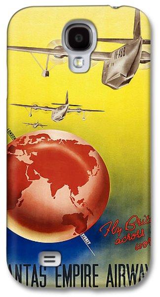 Vintage Australia Travel Poster Galaxy S4 Case