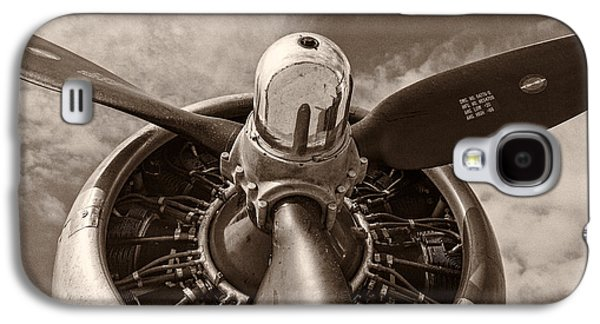 Airplane Galaxy S4 Case - Vintage B-17 by Adam Romanowicz