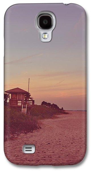 Vintage Beach Hut Galaxy S4 Case