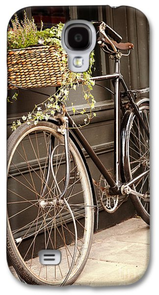Bicycle Galaxy S4 Case - Vintage Bicycle by Jane Rix