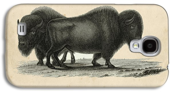 Vintage Bison Galaxy S4 Case