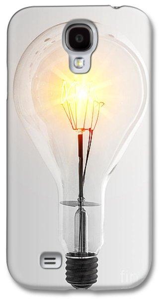 Vintage Bulb Galaxy S4 Case by Carlos Caetano