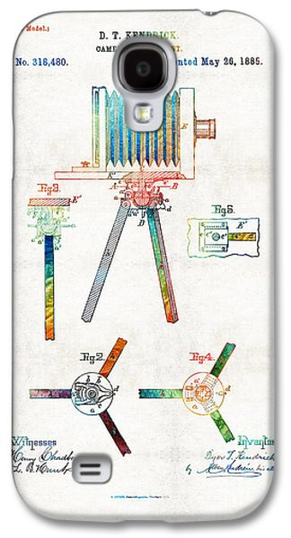 Vintage Camera Art - Tripod Joint - By Sharon Cummings Galaxy S4 Case