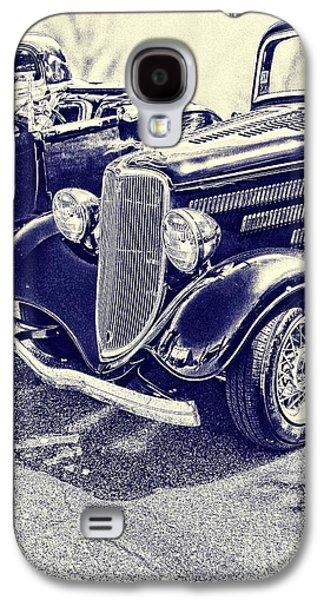 Vintage Ford Art Blueprint Nbr 161 Galaxy S4 Case by Lesa Fine