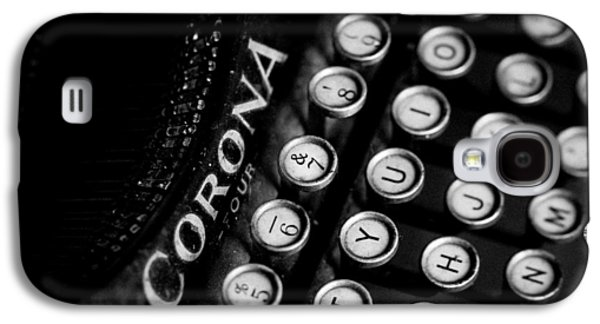 Vintage Corona Four Typewriter Galaxy S4 Case