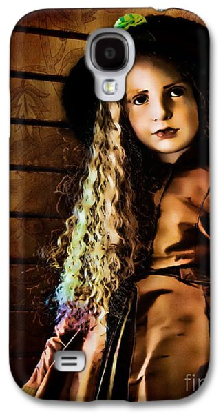 Vintage Doll Galaxy S4 Case by Colleen Kammerer