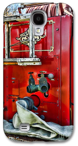 Vintage Fire Truck Galaxy S4 Case