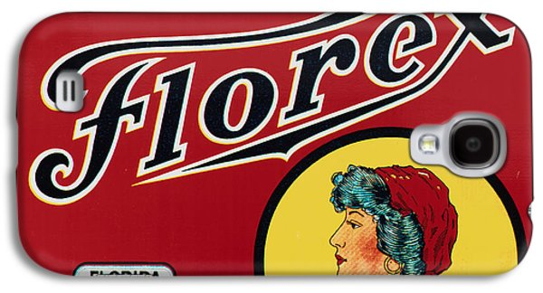 Vintage Florida Food Signs 2 - Gypsy Florex Brand - Square Galaxy S4 Case by Ian Monk