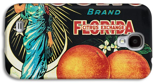Vintage Florida Food Signs 1 - Juno Brand - Square  Galaxy S4 Case by Ian Monk