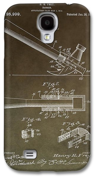 Vintage Hammer Patent Galaxy S4 Case by Dan Sproul