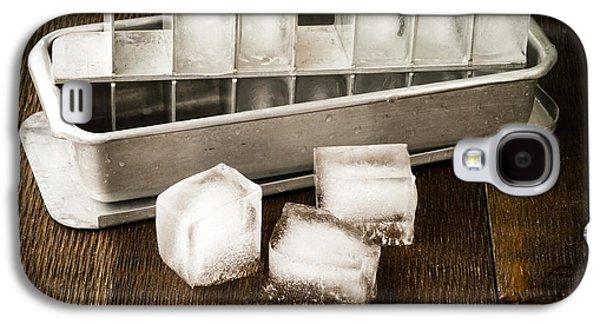 Vintage Ice Cubes Galaxy S4 Case by Edward Fielding