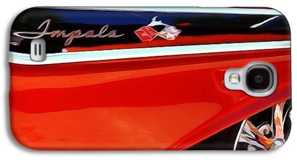Classic Galaxy S4 Case - Vintage Impala by Heidi Hermes