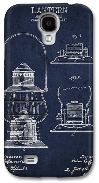 Vintage Lantern Patent Drawing From 1887 Galaxy S4 Case