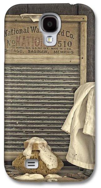 Vintage Laundry Room II By Edward M Fielding Galaxy S4 Case