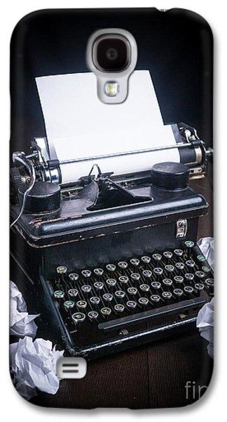 Vintage Manual Typewriter Galaxy S4 Case