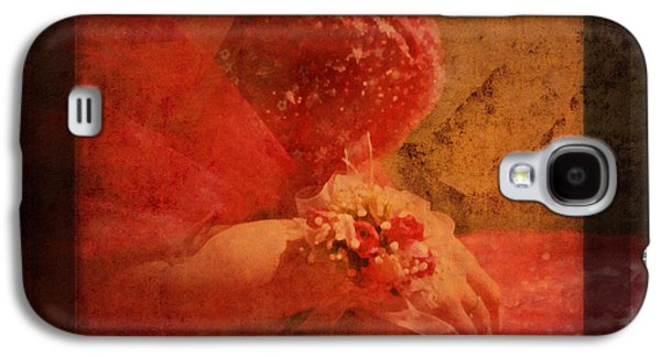 Vintage Memories Of First Love Galaxy S4 Case by Georgiana Romanovna