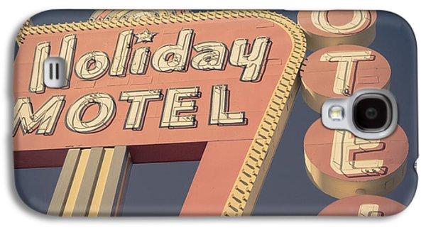 Vintage Motel Sign Square Galaxy S4 Case