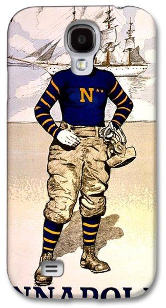 Vintage Poster - Naval Academy Midshipman Galaxy S4 Case