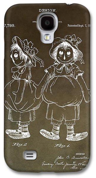 Vintage Raggedy Ann Patent Galaxy S4 Case