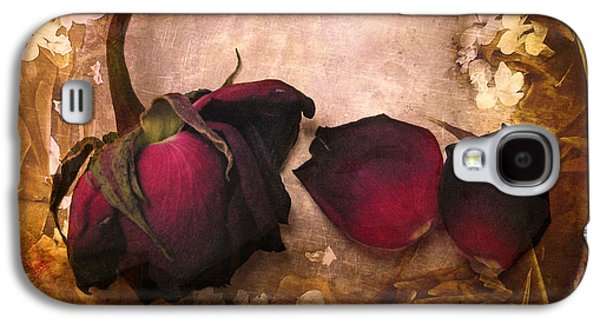 Vintage Rose Petals Galaxy S4 Case by Jessica Jenney