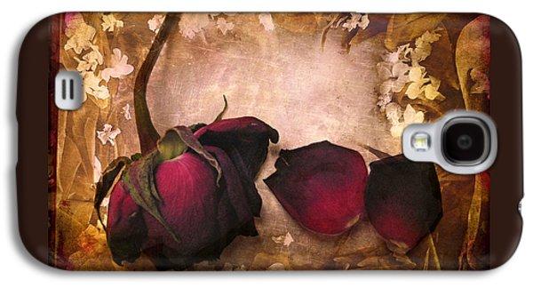 Vintage Rose Petals Galaxy S4 Case