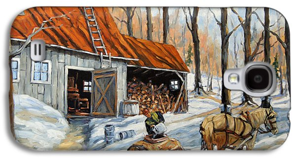 Vintage Sugar Shack By Prankearts Galaxy S4 Case by Richard T Pranke